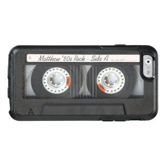 レトロの音楽カセットの組合せテープおもしろいな一見 オッターボックスiPhone 6/6Sケース