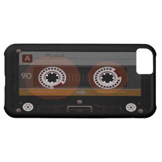 レトロの音楽カセットテープiPhone 5cケース iPhone5Cケース