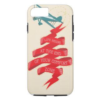 レトロの飛行機の冒険 iPhone 8/7ケース