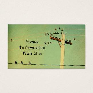 レトロの鳥 名刺