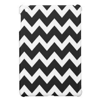 レトロの黒いジグザグパターン iPad MINI CASE