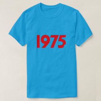 レトロの1975年のTシャツ(変形) Tシャツ