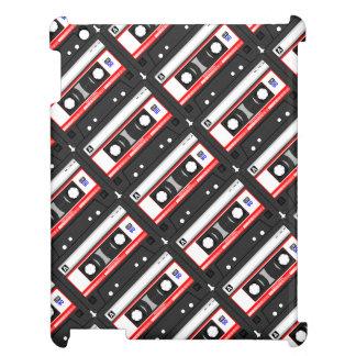 レトロの80年代のカセットテープ iPadカバー