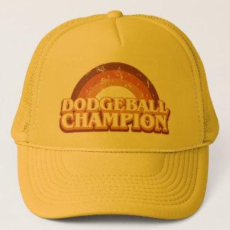 レトロのDodgeballのチャンピオンのトラック運転手の帽子 キャップ