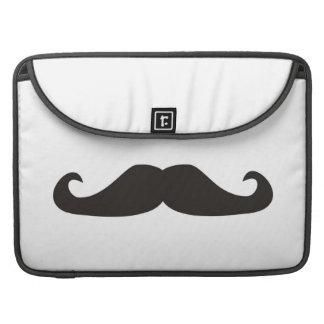 レトロのgentelmanの髭のヒップスターの袖MacBook MacBook Proスリーブ
