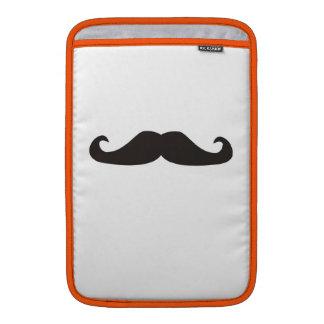 レトロのgentelmanの髭のヒップスターのiPadの袖 MacBook スリーブ