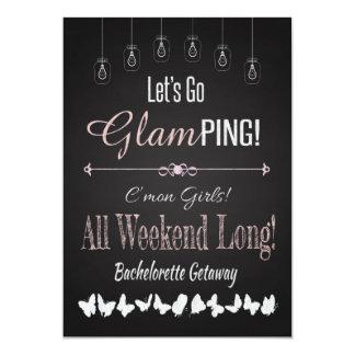 レトロのGlampingのバチェロレッテの逃走の週末 カード
