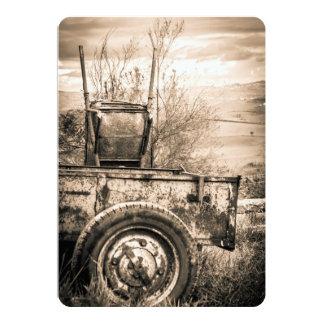 レトロイタリアンな田舎のヴィンテージ旅行イメージ カード