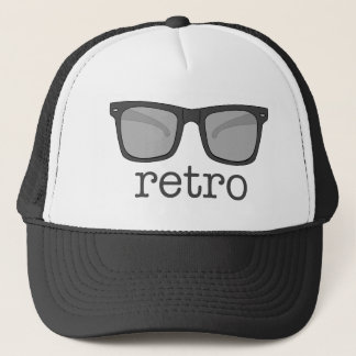 レトロガラスの帽子 キャップ
