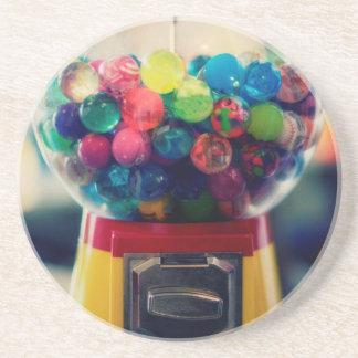 レトロキャンデーのbubblegumのおもちゃ機械 コースター