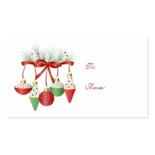レトロギフトカードクリスマス ...
