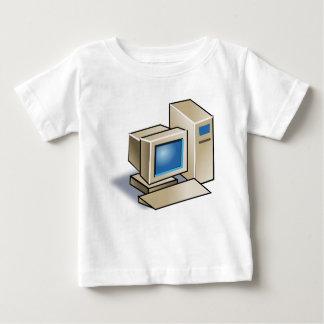 レトロコンピュータ ベビーTシャツ
