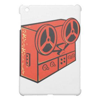 レトロテープレコーダの巻き枠カセットデッキ iPad MINIケース