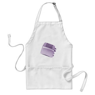レトロトースター-紫色 スタンダードエプロン
