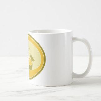 レトロナマズの魚 コーヒーマグカップ