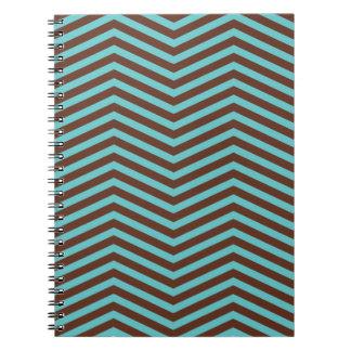 レトロパターン写真のノート(80ページB&W) ノートブック