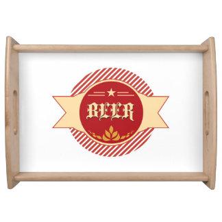 レトロビールロゴ トレー