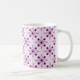 レトロメートルマグ、プラム コーヒーマグカップ