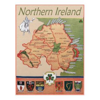 レトロ北アイルランド ポストカード