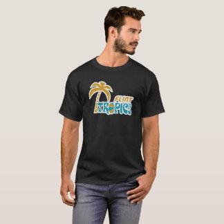 レトロ燧石の熱帯地方 Tシャツ