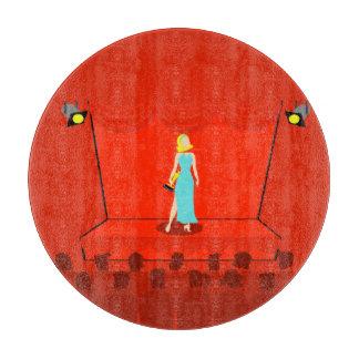 レトロ賞ショーのまな板 カッティングボード