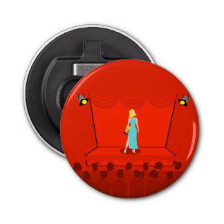 レトロ賞ショーのボタン型栓抜き 栓抜き