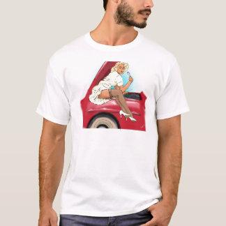 レトロ車およびモデル Tシャツ