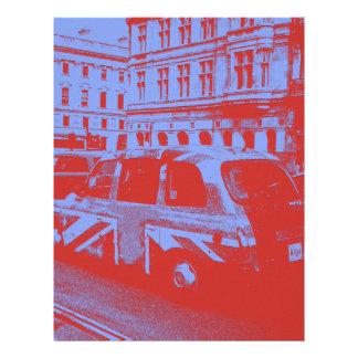 レトロ連合ジャック・ロンドン都市タクシーの運転者のギフト レターヘッド