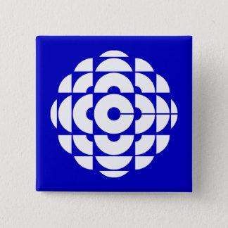 レトロ1986-1992年-白い 5.1CM 正方形バッジ