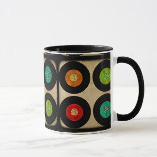 レトロ45のレコードのアルバム マグカップ