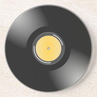 レトロ45 rpmの記録的なアルバムのどが渇いたコースター コースター