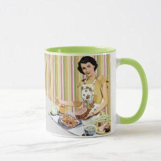 レトロ/ヴィンテージ50sの主婦 マグカップ
