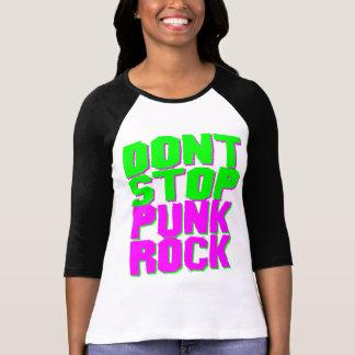 レトロCOREYのトラの80年代はパンクロックをストップ Tシャツ