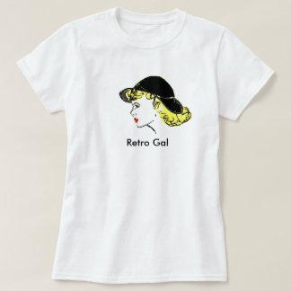 レトロGal (2X大きい) Tシャツ
