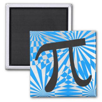 レトロPiの記号の磁石Pi日のギフト マグネット