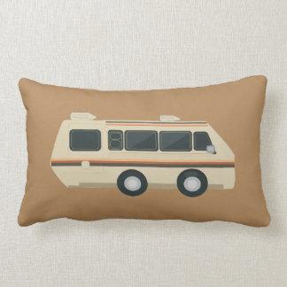 レトロRVの枕 ランバークッション