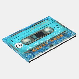 レトロT4録音テープ第50誕生日の来客名簿 ゲストブック