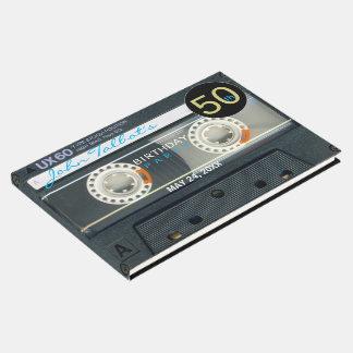 レトロT6録音テープ第50誕生会の来客名簿 ゲストブック