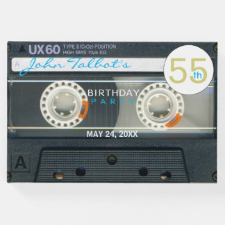 レトロT6録音テープ第55誕生会の来客名簿 ゲストブック