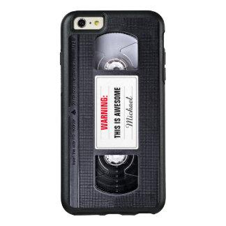 レトロVHSのカセットテープのおもしろいな旧式 オッターボックスiPhone 6/6S PLUSケース