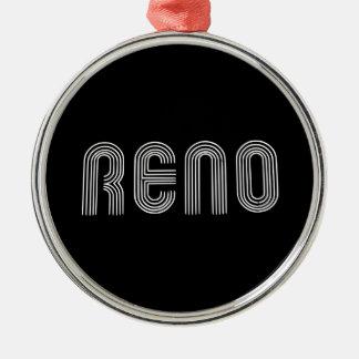 レノの印の白 メタルオーナメント
