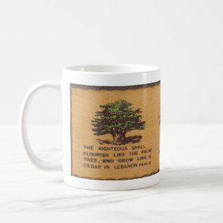 レバノンのコーヒー・マグのヒマラヤスギ コーヒーマグカップ