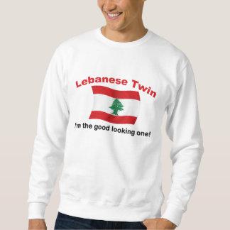 レバノンの双生児-格好良い1 スウェットシャツ