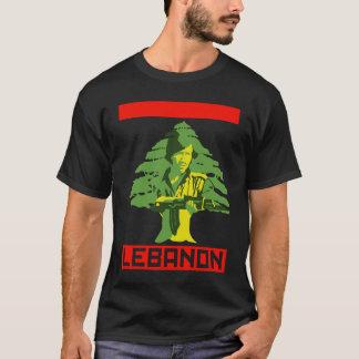 レバノンの戦闘機 Tシャツ