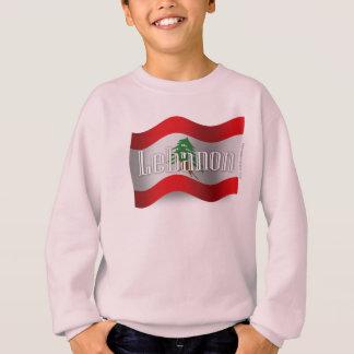 レバノンの振る旗 スウェットシャツ