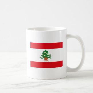 レバノンの旗のマグ コーヒーマグカップ
