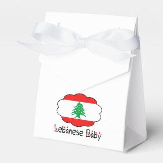 レバノンの旗の好意箱のバッグ フェイバーボックス