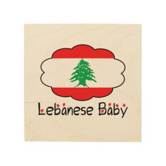 レバノンの旗の赤ん坊の木製の壁の芸術 ウッドウォールアート