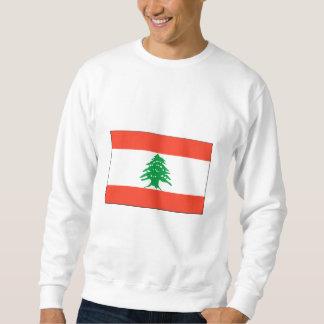 レバノンの旗インターナショナル スウェットシャツ
