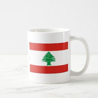 レバノンの旗 コーヒーマグカップ